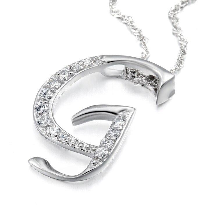 10pcs/lot Fashion Simple Style Noble Crystal Letter G Pendant ...