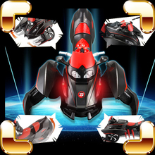 New Year Gift Scorpion 2.4G RC Remote Control Stunt Racing Car Toys Electric Shooting Game Educational Kids Battle Drift Machine
