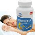 6 garrafas de alimentos dietéticos suplemento Melatonina tablet promover o sono