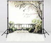 7x10ft Flowers Photo Vinyl Background trees garden loft Wedding Photography Backdrop Customized Wedding stage Background CM 6942