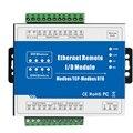 M100T Modbus TCP Ethernet сетевое удаленное IO модуль точность сбора данных 2 релейный выход для промышленных измерений и системы управления