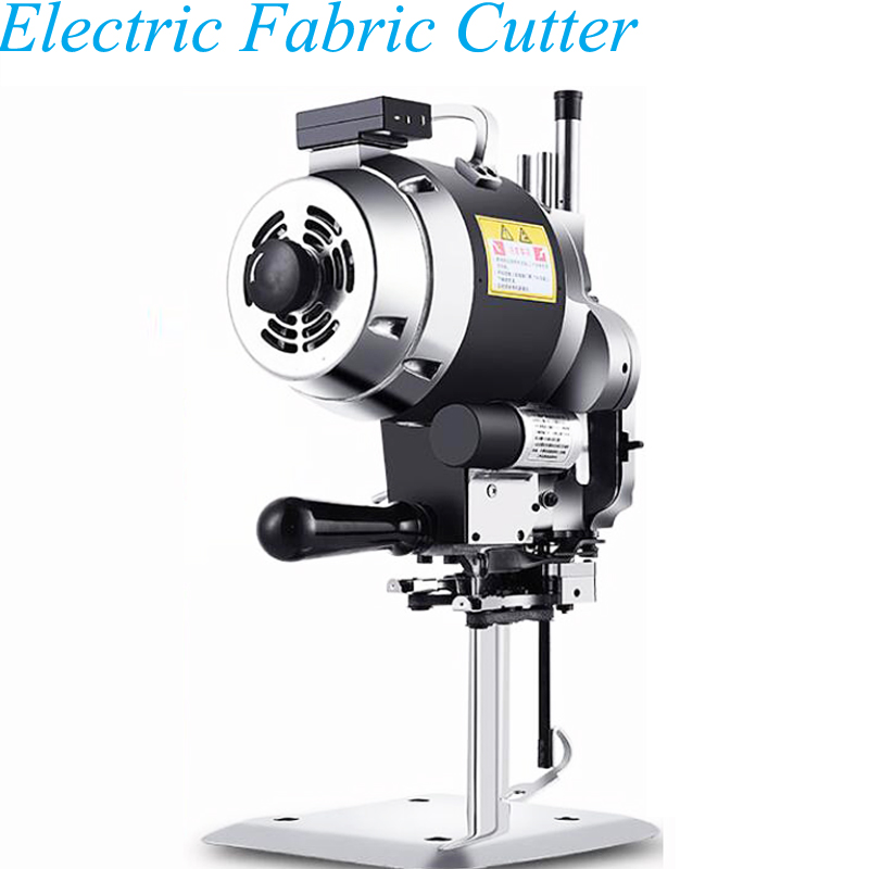 עור חותך בד מסור חשמלי גזירה טקסטיל קאטר בד מכונת חיתוך ערכת מספריים כלי עבור בגדי עור בד CZD-5