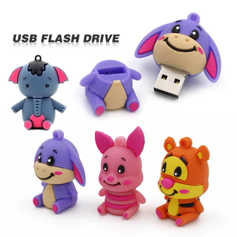 creation usb stick 64gb 16gb usb flash drive 32gb Cartoon Pen Drive cle usb fantaisie gift flash car gadget thumb dive U disk car key mini usb flash drive 3 0 pen drive 16gb 32gb 64gb black