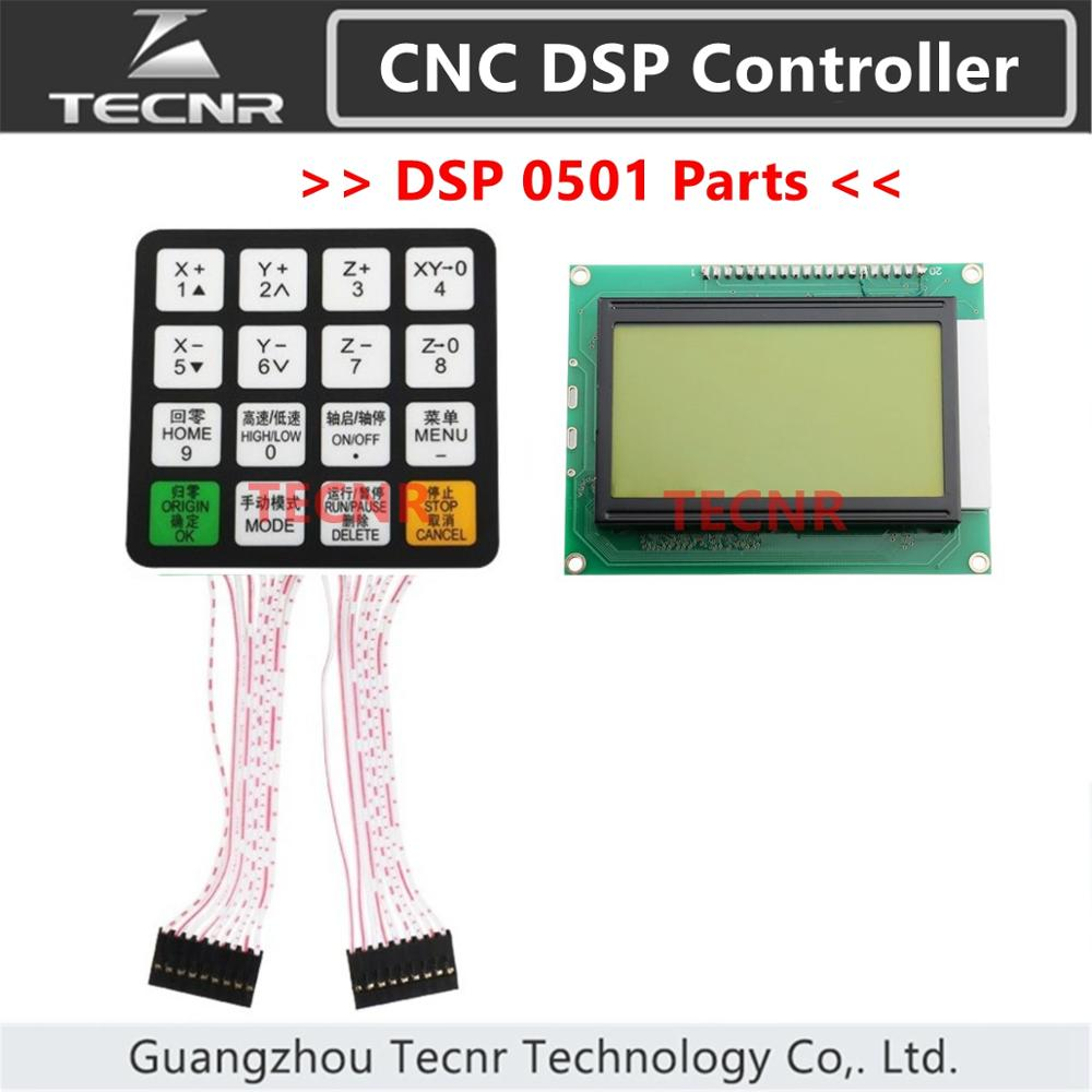 DSP 0501 CNC Controller Parts Key Film Button Shell And Display