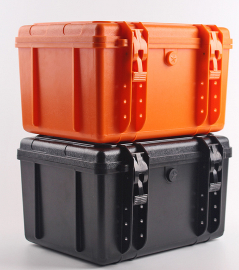350*290*207MM Waterproof Tool Case Toolbox Protective Camera Case Instrument Box Suitcase Impact Resistant With Pre-cut Foam