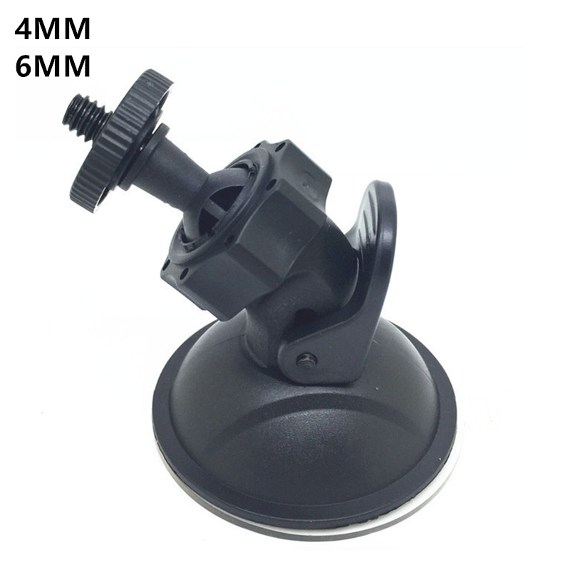Car Doors Mini Car Suction Mount Tripod Car Car Holder DVR DV GPS Telephone Holder Support Camera Support 6MM 4MM DVR Holders