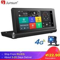 Junsun E28 GPS Navigation 4G Car DVRs 6 86 Car Dashcam Rear View With DVR And