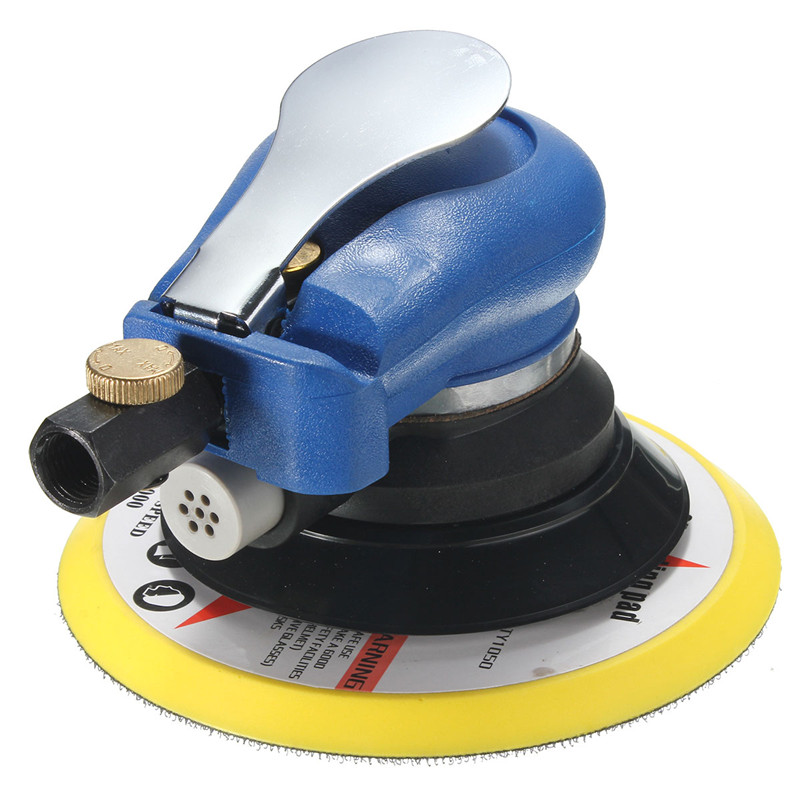 6 Inch 10000rpm Round Air Orbital Sander Random for Sander 150mm Dualable Action Auto Body Orbit DA Sanding Hand Tool 6 inch air sander random orbital