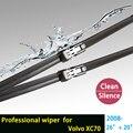"""Limpiaparabrisas cuchillas para Volvo XC70 (desde 2008 en adelante) 26 """"+ 20"""" fit botón tipo de limpiaparabrisas armas sólo HY-011"""