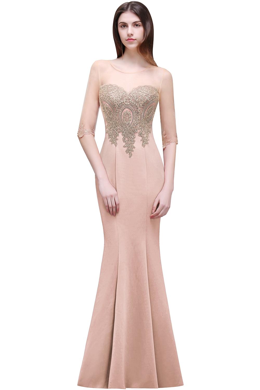 Perfecto Vestidos De Dama De Largo Sirena Ideas Ornamento ...