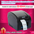 360B Barcode label printers Thermal  clothing label printer Support 80mm printing Print speed is very fast