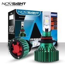 NOVSIGHT 9005 HB3 автомобиля светодио дный огни 60 W 16000LM фар лампы пучком Туман свет лампы 6500 K белый D45