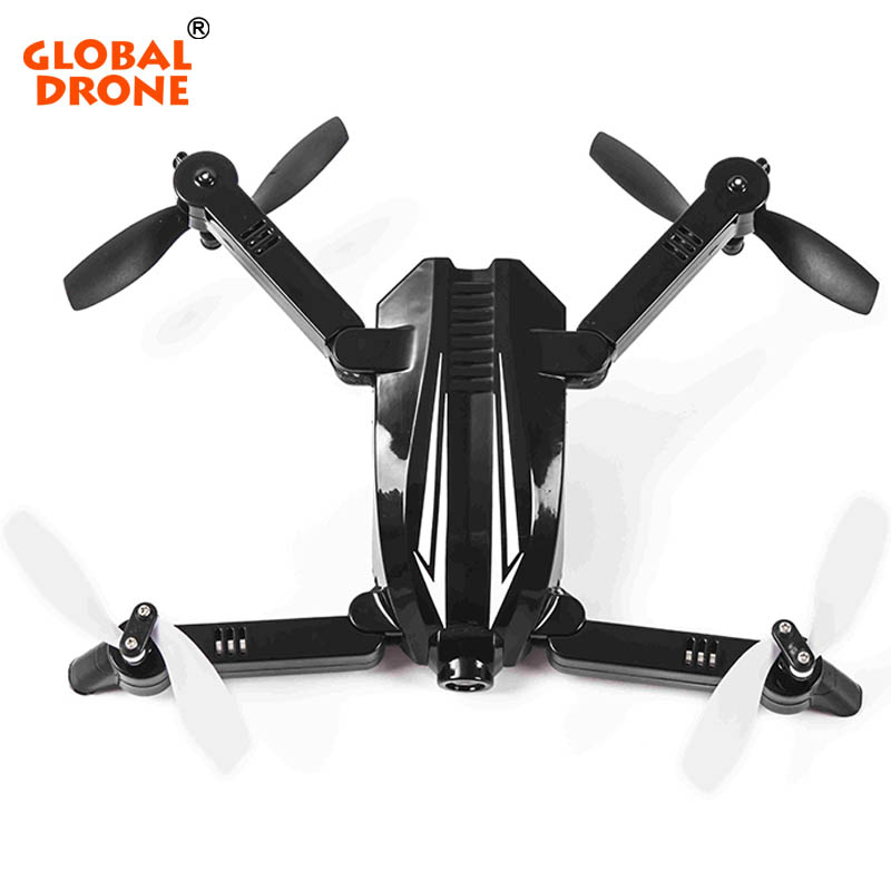 Globel Drone Mini Pocket Drone with 720P Wide Angle HD Camera WIFI FPV Foldable RC Quadcopter Selfie Drone VS JJRC H37 global drone rc selfie drones with camera hd wifi fpv quadcopter 8807 foldable drone with camera vs h37 jy018 xs809hw