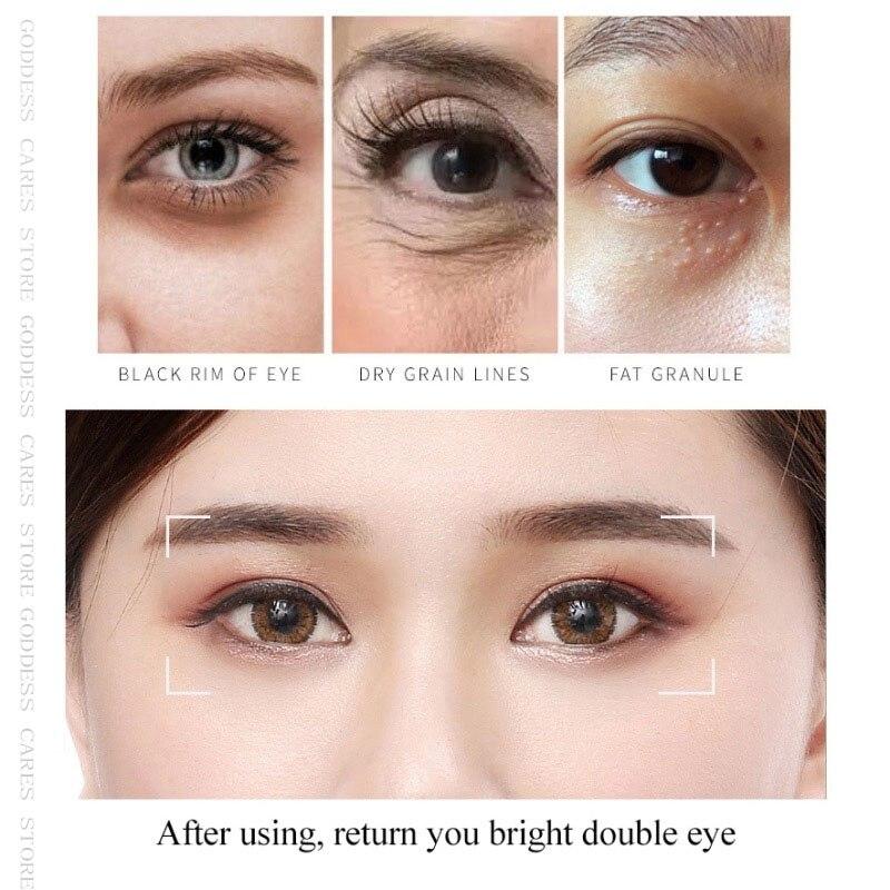 Gel Collagen Eye Patches 60pcs Remove Dark Circles Hydrogel Pearl Eyes Mask Anti-Puffiness Colageno Hidrolizado Moisturiz For P-2