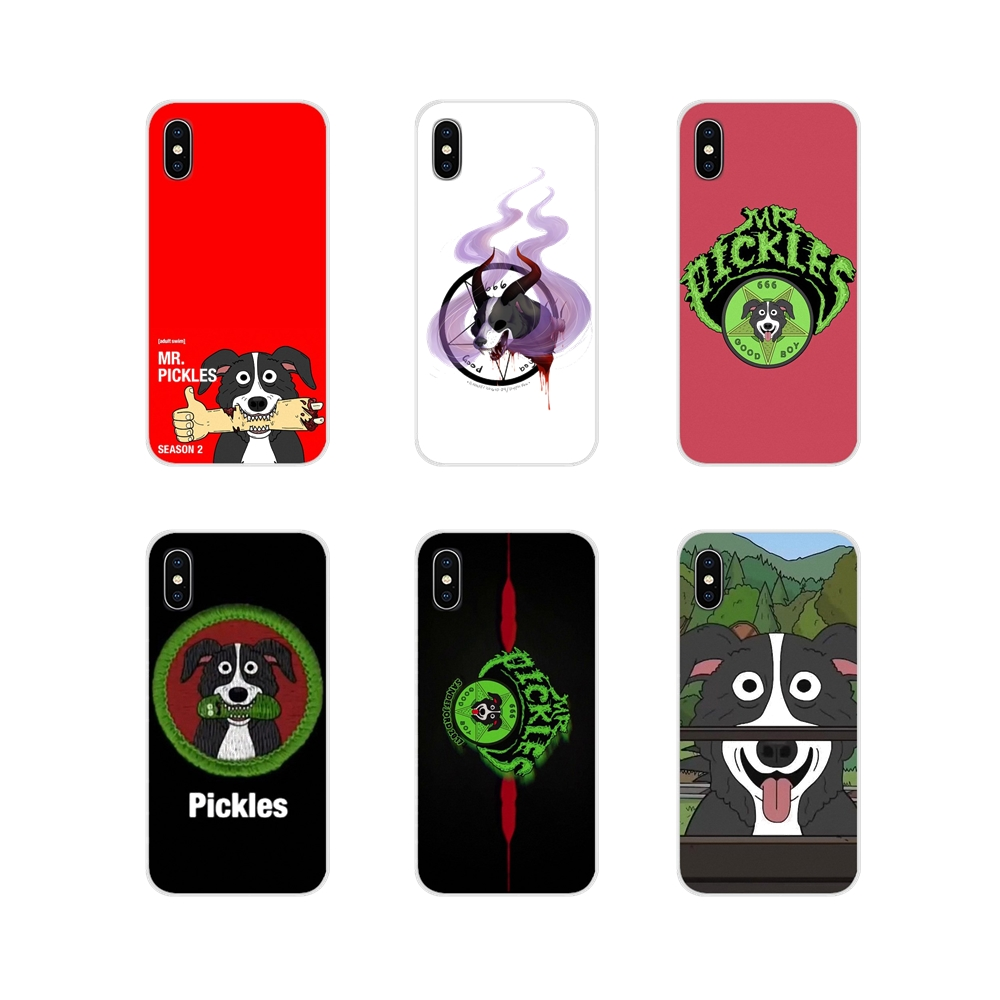For Huawei G7 G8 P7 P8 P9 P10 P20 P30 Lite Mini Pro P Smart Plus 2017 2018 2019 mr pickles cucumber rick meme Phone Cases Covers image
