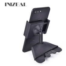 INIZEAL Mobile Phone GPS Bracket Stands Car CD port mobile Phone Mount Holder stands Square Kit CD Slot Car Cell Phone Holder