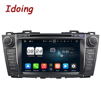 Idoing 2Din Android6 0 Steering Wheel Car DVD Multimedia Player Fit Mazda 5 GPS Navigation 2G