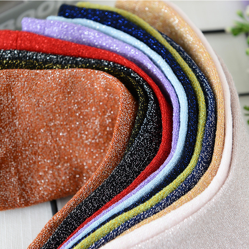 Korean Style Women's Socks Spring And Summer Gold And Silver Silk Socks Ladies Solid Color Thin Section Breathable Flash Socks