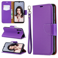 2019 New Litchi Flip PU Leather Phone Case For Huawei P30 P20 Lite Cover Wallet Bag PRO Pro Book