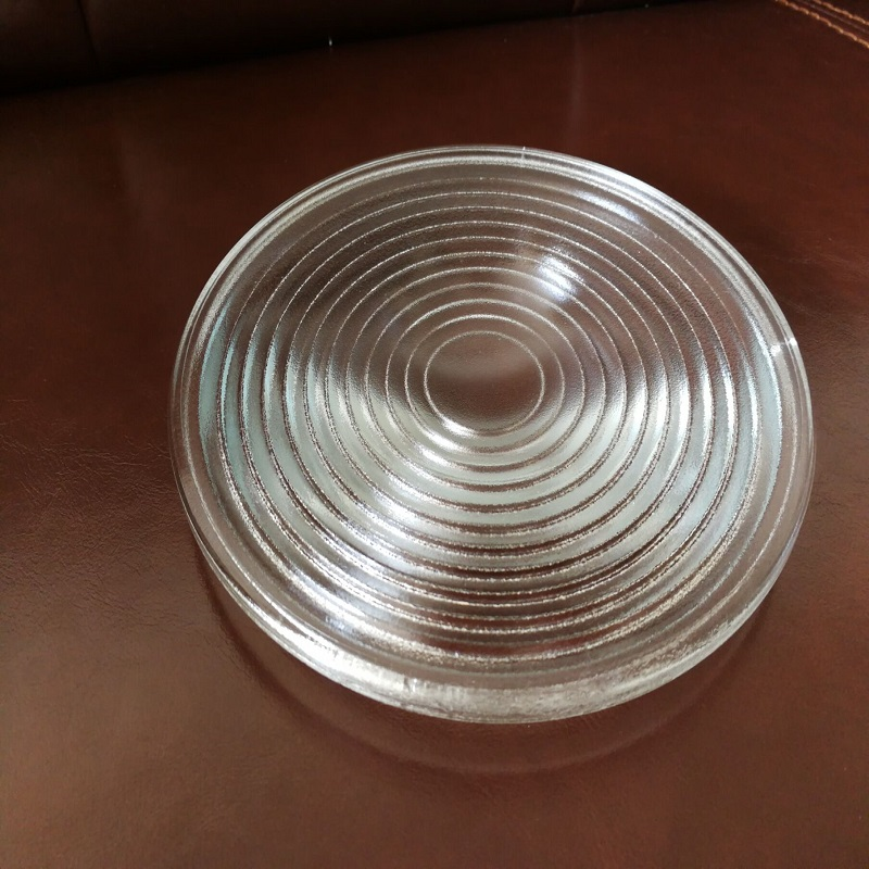 Diameter200mm EFL140mm Round Glass Spotlight Fresnel Lens for stage lamp magnifier threaded lens