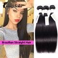 8a Brazilian Virgin Hair Straight  Mink Brazilian Straight Hair 3 Bundles Brazillian Human Hair Weave Bundles Rosa Hair Products