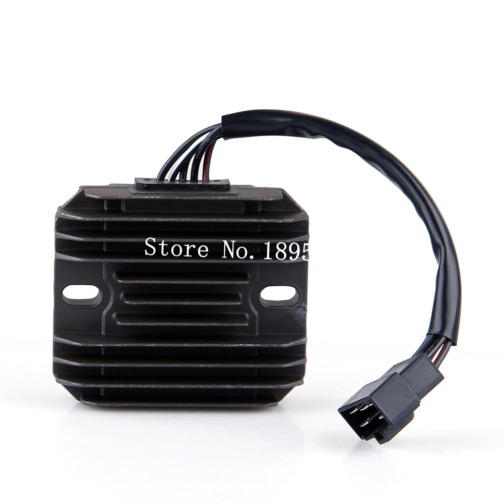 Suzuki Vl 1500 Wiring Diagram: Black Motorcycle Regulator Rectifier Voltage For Suzuki