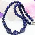 8 мм природный камень лазурит джаспер круглый бисер ожерелье для женщин choker chain подвески воротник ювелирные изделия diy 18 дюймов B3203