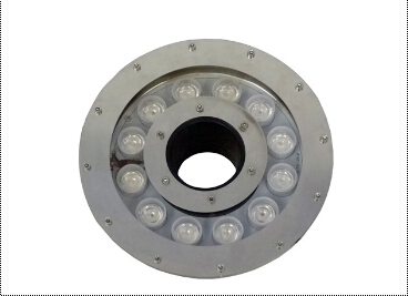 316 stainless steel IP68 waterproof 12w led underwater lighting AC12v Bridgelux led fountain lamp white/red/green/blue 10pcs/lot silver body stainless steel convex lens led underwater pool lights red green blue 3w ac85 265v led underwater light