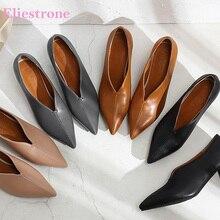 2019 ยี่ห้อใหม่ชี้ Toe สีดำสีเทาผู้หญิงปั๊มรองเท้าส้นสูง Lady Office รองเท้า SA26 Plus ขนาดใหญ่ขนาด 10 28 30 43 46