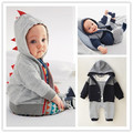 Fall 2016 male baby cotton suit children's infant clothing