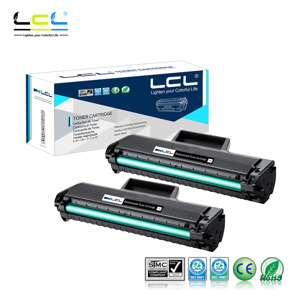 LCL MLT-D104S MLT-D1042S (2-Pack Black) Toner Cartridge Compatible for Samsung ML-1660/1665/1667/1670/1671/1675/1676 powder for samsung mltd 1192 s xil for samsung d1192s els for samsung mlt d119 s els color toner cartridge powder free shipping