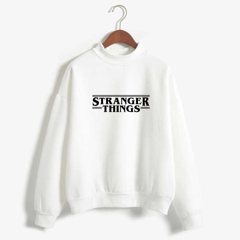 Hoodie Stranger Things Women's Hoodie Fleece Harajuku Sweatshirt Autumn and Winter Hip-Hop Letter Print Hoodie Sweatshirt hello