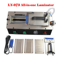 Free Ship LY 973 V 3 All In One Semi Auto Vacuum OCA Film Laminator 220V