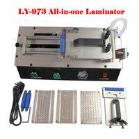 Free Ship LY 973 V 3 All In One Semi Auto Vacuum OCA Film Laminator 220V