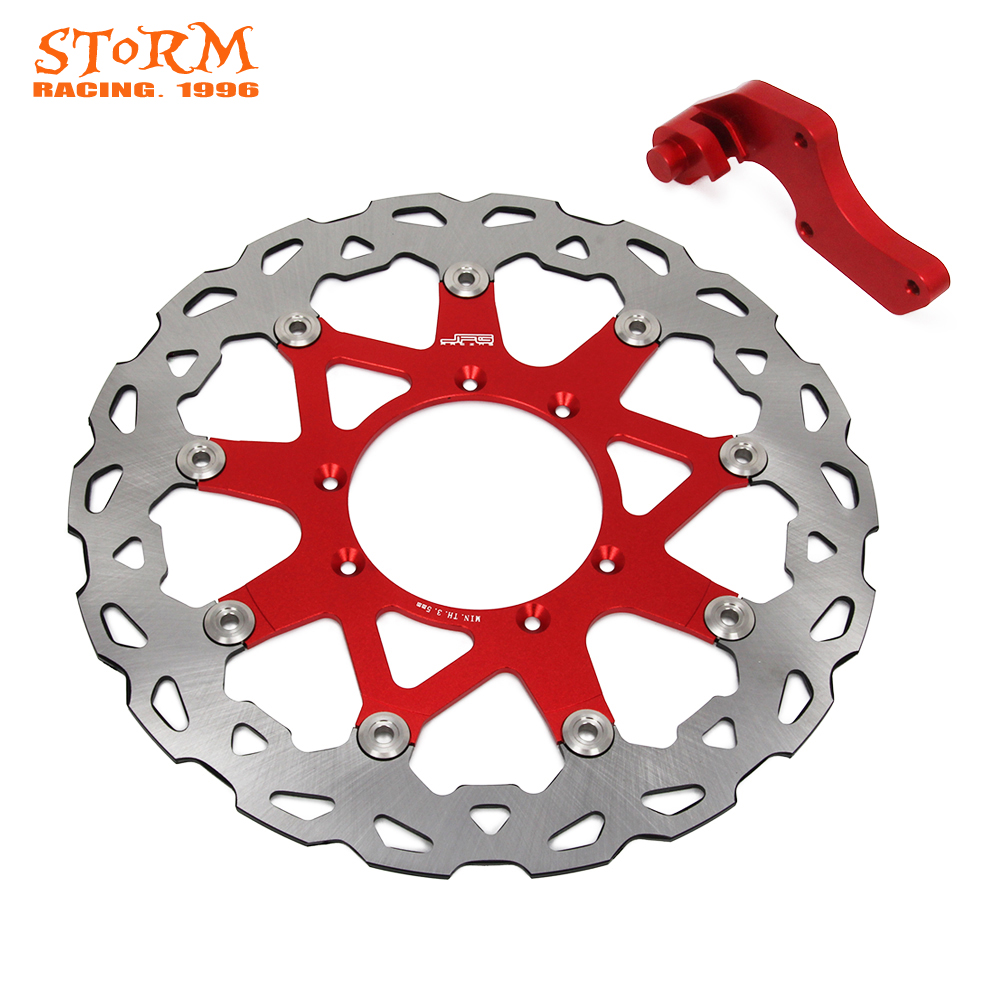 320MM Front Floating Brake Discs and Bracket For HONDA CR125R CR250R CR250R CR500R CRF230 CRF250X CRF250R CRF450R CRF450X CR CRF cnc offroad mx clutch brake levers for honda cr125r 04 07 cr250r crf250r 04 06 crf450r 04 06 crf250x 04 16 crf450x 05 16