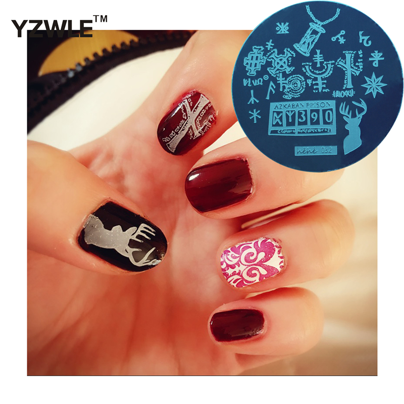 Good Value New Arrive Harry Potter Series Nail Art Stamping Plate
