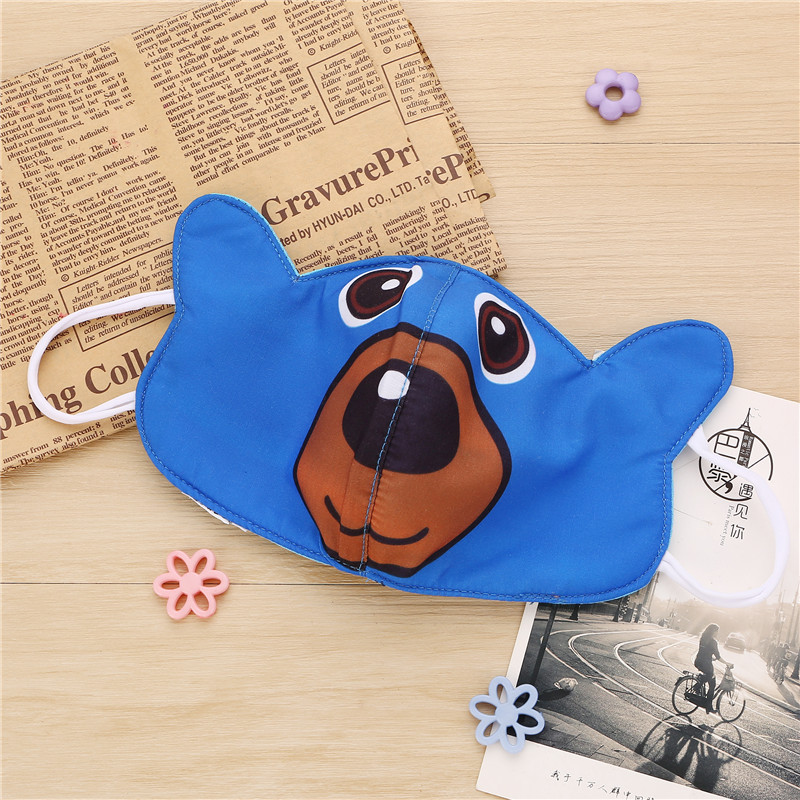 10pcs/Bags Autumn And Winter Children's New Personality Cartoon Bear A Variety Of Styles Optional Dust Breathable Warm Mask