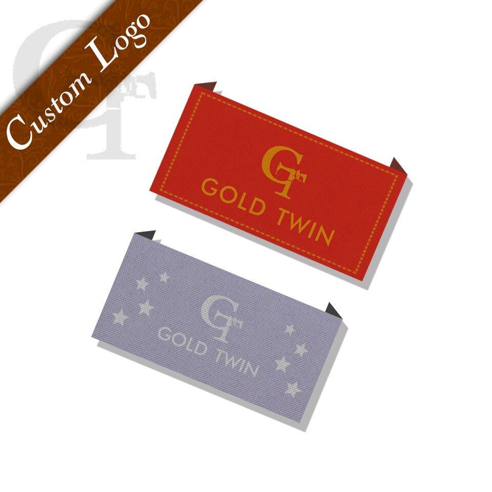 Ropa personalizada/calzado/bolsas/marca de ropa etiquetas tejidas de ...