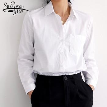 4e3e4f354165 Женские рубашки женские топы и блузки офисные женские темпераментные  хлопковые ...