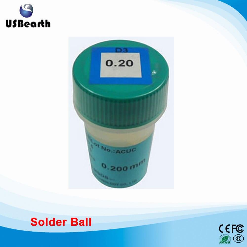 PMTC 250k 0.2mm lead-free solder balls for BGA rework reballing lead free bga solder balls 250k 0 35mm for bga repair bga reballing kit bga solder ball