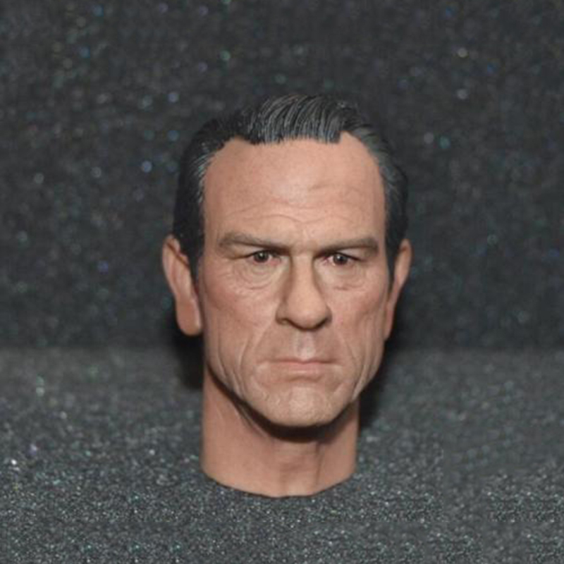 1/6 Male Head Sculpt K Detective Tommy Lee Jones Head Models For 12 Inches Mens Bodies Figures эра стабилизатор sta 1000
