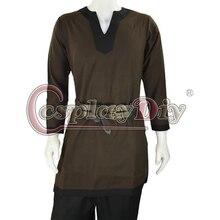 Cosplaydiy Medieval Men Costume Brown Fantasy Viking Norseman Lotr Men's All Period Shirt Tunic Clothing Custom Made