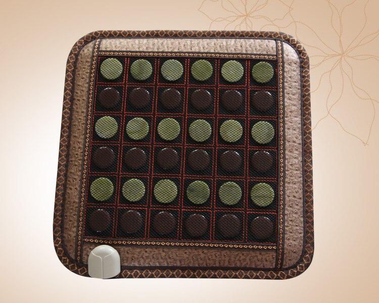 Vente chaude jade coussin électrique chauffée Chaud-vente jade chauffage coussin de massage 45*45 CM