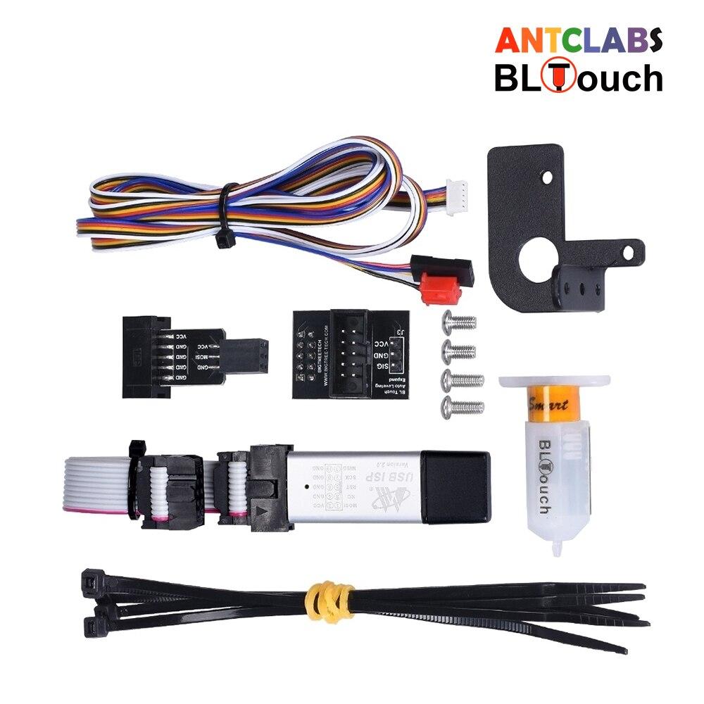 Antclabs bl touch v3.0 kit de nivelamento da cama da imprensa automática bltouch sensor peças impressora 3d para Ender-3 CR-10 impressora skr v1.3 placa