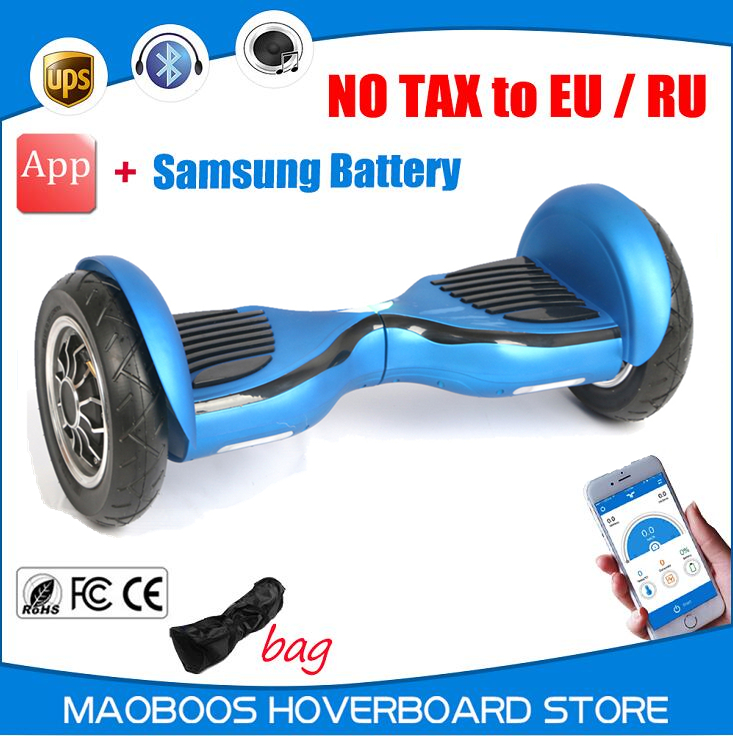 New intelligent SM battery APP control self balancing electric font b Hoverboard b font Motorized Ault