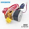 MK8 экструдер комплект 0,4 мм сопло 1,75 мм нити J-head Hotend экструзии 3D принтеры части Бесплатная доставка