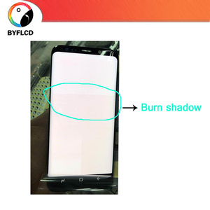 Image 4 - Original LCD For Samsung Galaxy S8 G950 G950F Screen For Samsung S8 Plus lcd G955 G955F Burning shadow Display Touch Screen