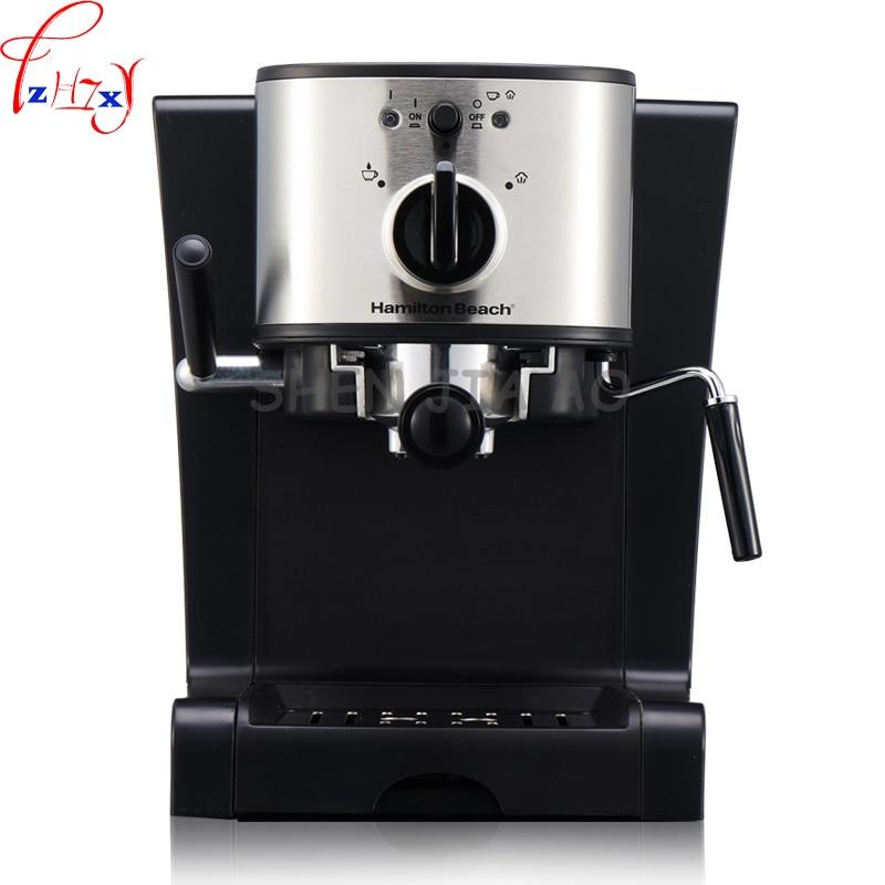 Household Italian coffee machine 15 bar Automatic Italian coffee machine Steam type milk machine ...