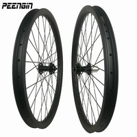 carbon wheels mountain bike 26/27.5/29er descent wheelsets 40x32 clincher hookless tubeless downhil rim used rueda 26 mtb parts