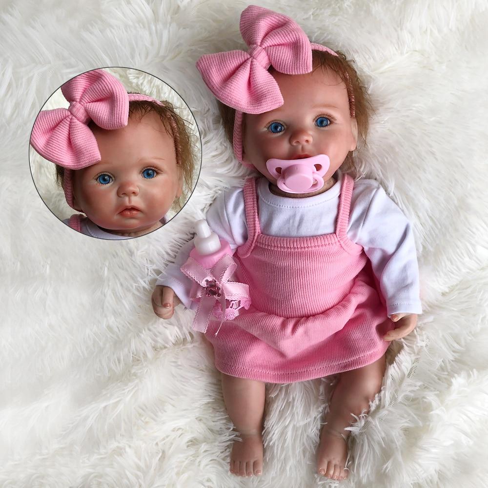 OtardDolls 15 inch Silicone vinyl reborn dolls 38cm Reborn Baby Dolls For Bebes Reborn The Latest